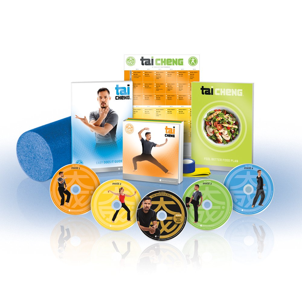 Tai Cheng Dvd Workout Base Kit Exercise And Fitness Exhaling Diagram Chi Yoga Bag Introduction Video Recordings Sports Outdoors
