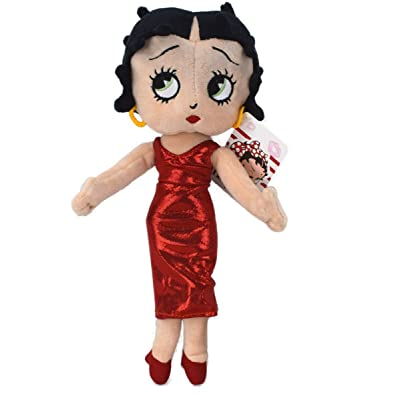 King features Syndicate 462120–Betty Boop, 32cm, rouge