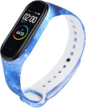 Smartband Band Compatible for Xiaomi Mi Band 4 Straps Smartwatch Wristband Replacement Band Silicone Smart Bracelet, ASTVSHOP Colorful Accessaries ...