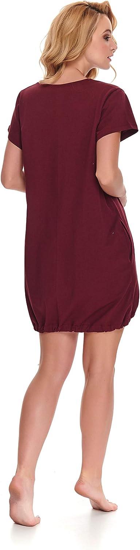 Dn-Nightwear TM.5038 Hermoso Camis/ón Maternal A Topos Hecho En La UE