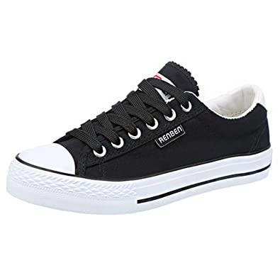 Changkang Classic Unisex Women's Men's Low Top Lace Up Canvas Shoes Summer Trainer Sneakers B0719H186B