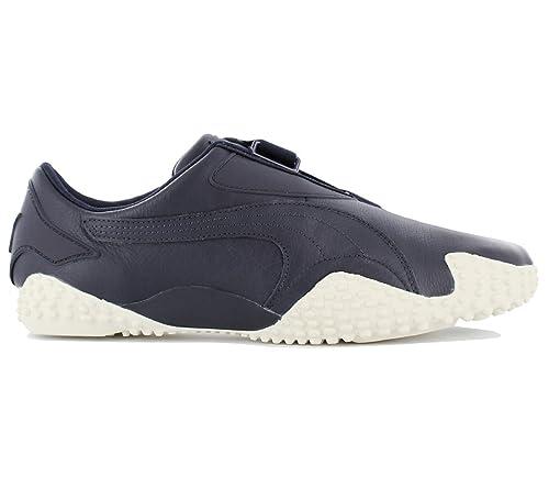 3f750498119 Puma Unisex s Mostro Og Ii Peacoat and Whisper White Leather Sneakers-11  UK India
