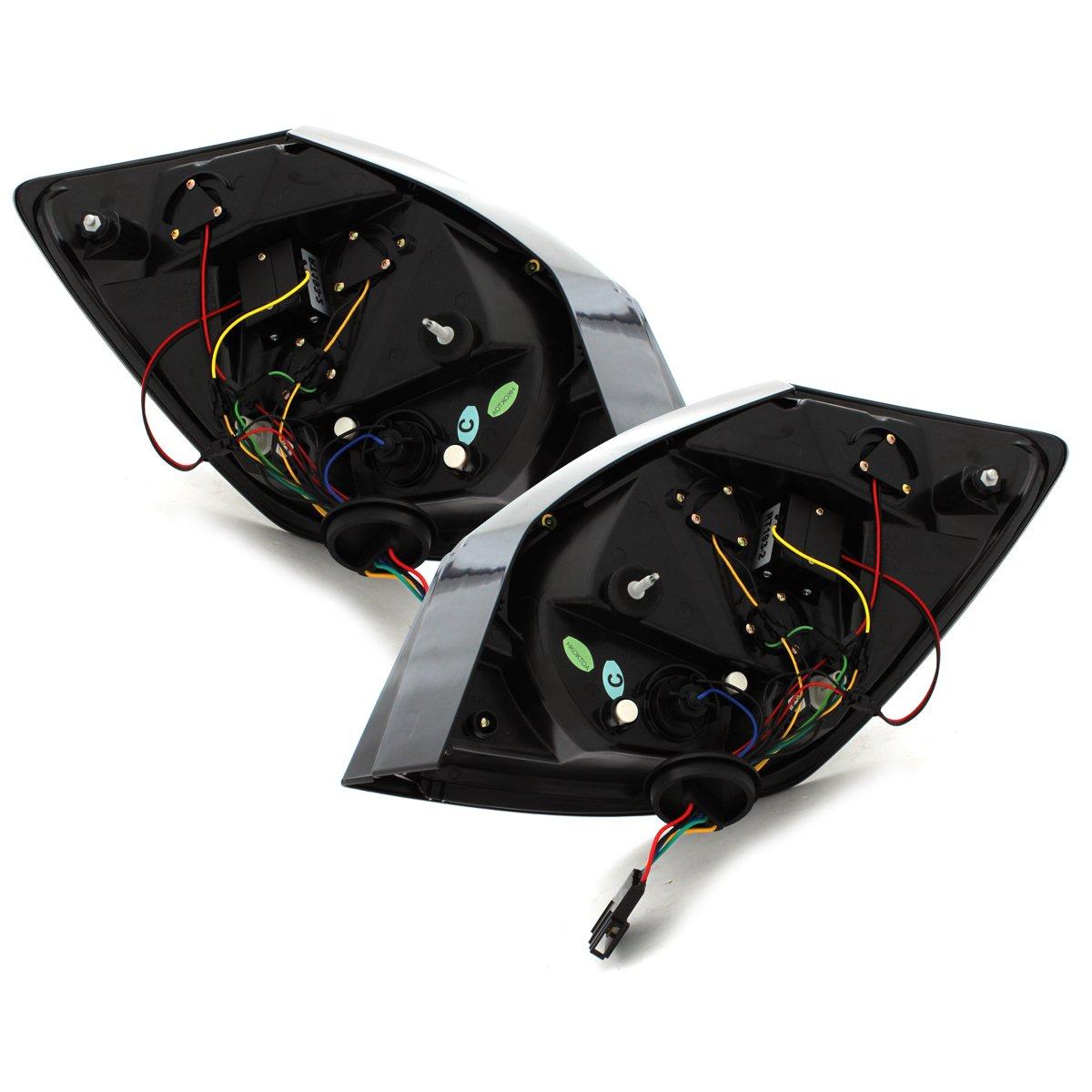 Rot//Smoke Dectane RSK06SLRS LED R/ückleuchten