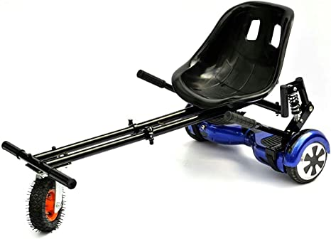 GOhoverkart GOMonster - Kart para hoverboard, Carbono Negro: Amazon.es: Deportes y aire libre