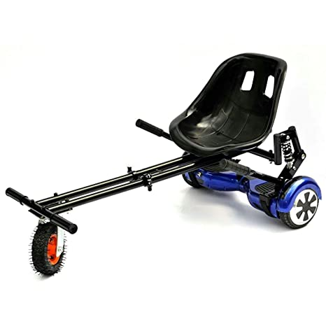 GOhoverkart GOMonster - Kart para hoverboard, Carbono Negro