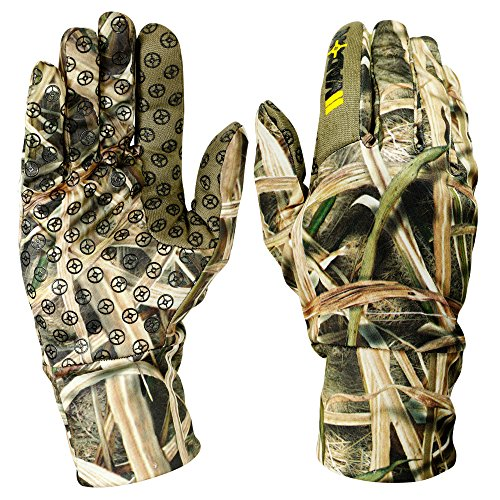 Camouflage Thinsulate Hunting Gloves (Mossy Oak