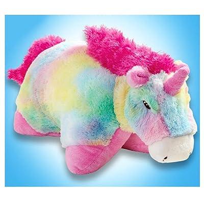 "My Pillow Pets Large 18"" Rainbow Unicorn: Toys & Games"