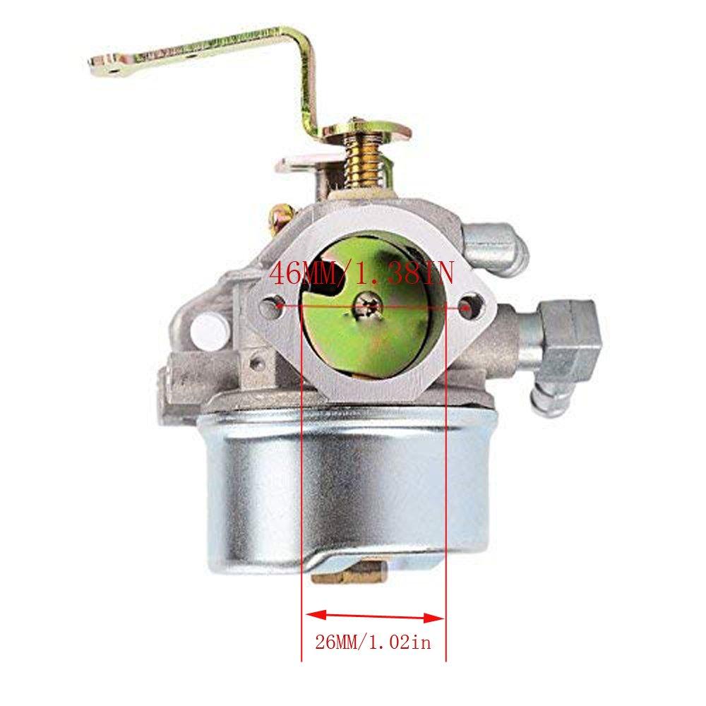 640152a Carburetor W Air Filter For Tecumseh 640260 Fuel Hm100 640260a 640260b Hm80 Hm90 With Gasket Garden Outdoor