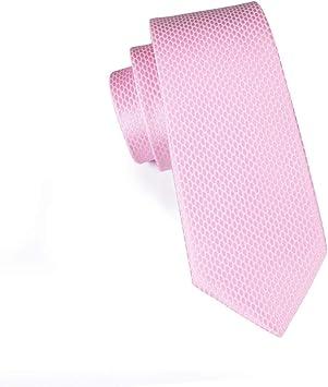 AK Corbata de lazo para hombre Corbata rosa Corbatas de seda para ...