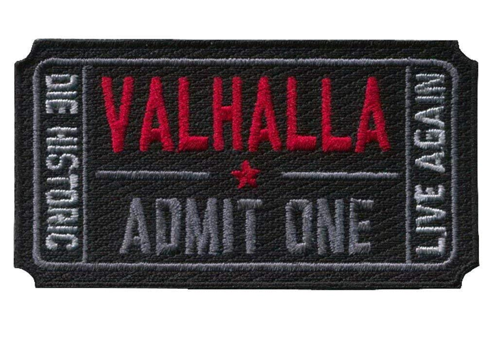 Titan One Europe Tactical Ticket to Valhalla Morale Military Vikings Mad MAX Patch