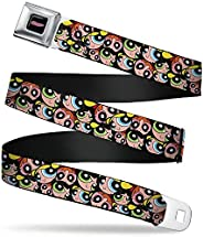 Buckle Down Men's Seatbelt Belt The Powerpuff Girls Wpp