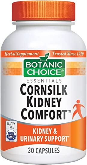 Botanic Choice Cornsilk Kidney Complex Supplement, 30 Capsules