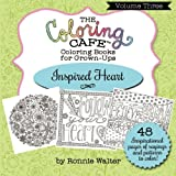 The Coloring Cafe-Volume Three- Inspired Heart (Volume 3)