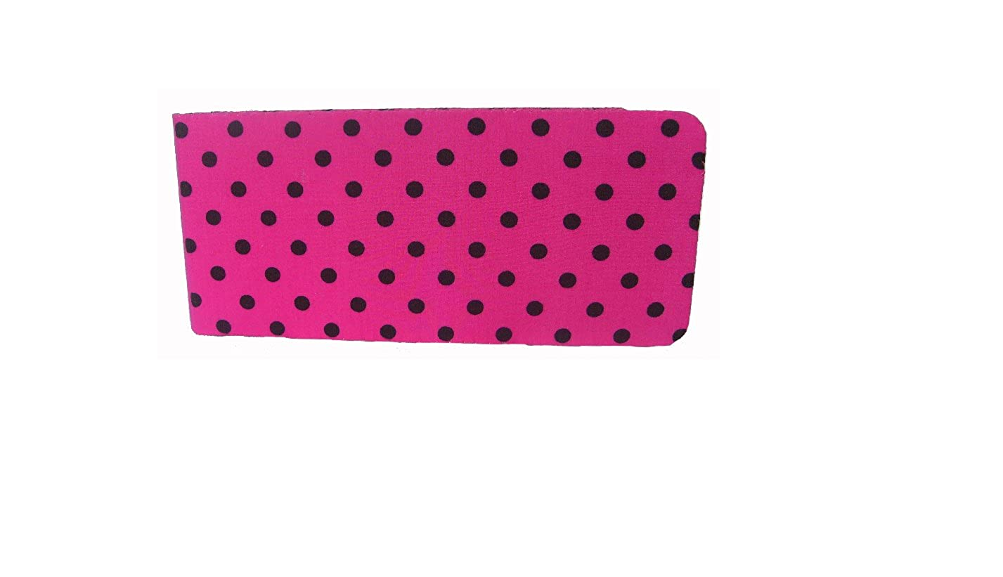 Pink Dotty Chequebook Cover MPLCB035