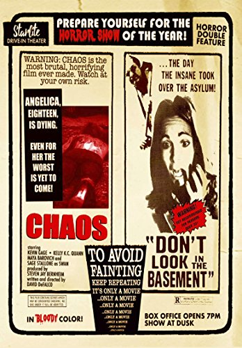 Chaos / Don't Look in the Basement - Double Feature (Basement Dvd)