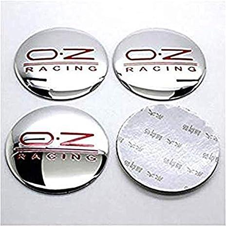 fanlinxin 4 × 56 mm OZO O. Z: embellecedores para Llantas de Carreras Deportivas
