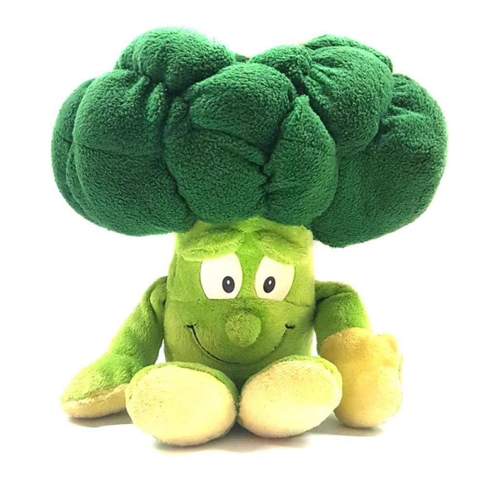 1 Stück Obst Gemüse weiche Plüsch-Spielzeug gefüllte Puppe for Kinder (Farbe: Brokkoli) (Farbe: Zwiebel) ZHANGKANG (Color : Broccoli) Broccoli