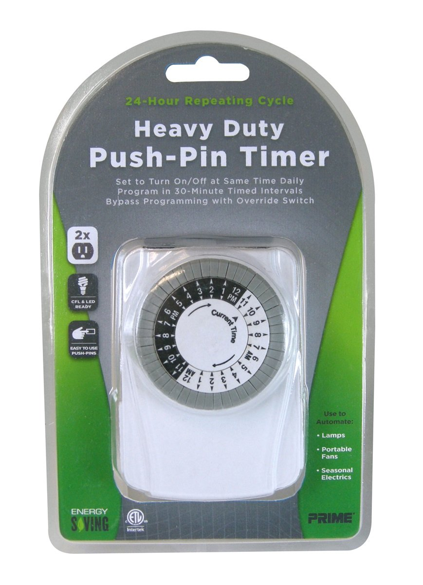 Prime wire cable tni2423 2 outlet wall tap with 24 hour electro prime wire cable tni2423 2 outlet wall tap with 24 hour electro mechanical timer electrical timers amazon publicscrutiny Image collections