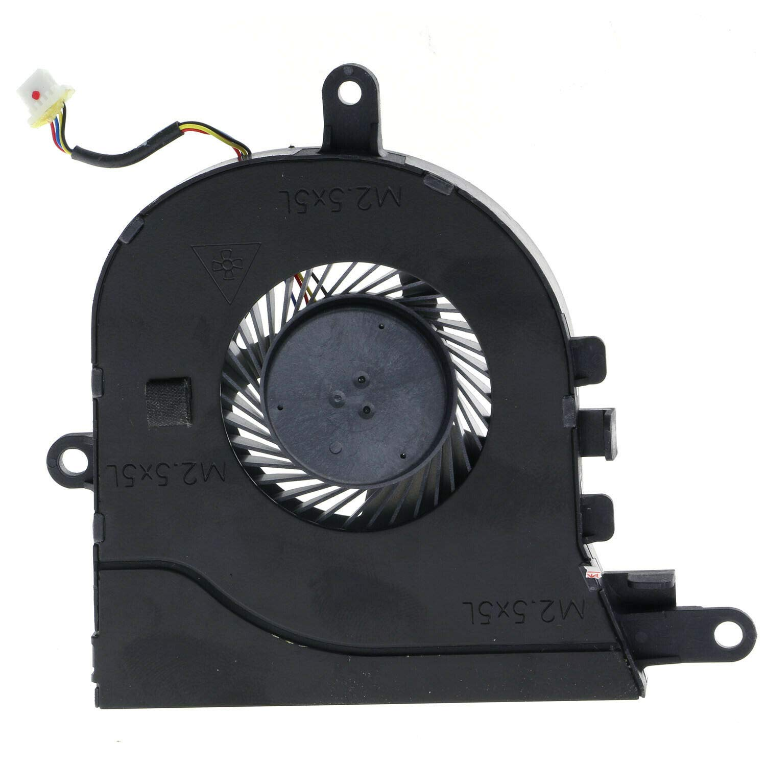 HK-PART Replacement Fan for Dell Latitude 3590 Inspiron 15 5570 5575 Cooling Fan NPFW6 CN-0NPFW6 0NPFW6 4-Wire
