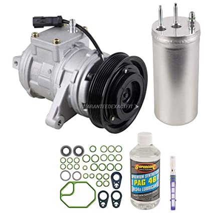 AC Compressor w/A/C Repair Kit For Jeep TJ & Wrangler 2000-2006 -  BuyAutoParts 60-80151RK New