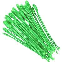 ULTECHNOVO Laboratorio de plástico 100PCS cucharadas de Mini