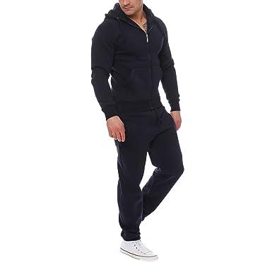 095ef741e8004 Bold Manner Ensemble Homme Sweatshirt + Pantalon de Sport Veste à Capuche  Casual Survêtement Manche Longue Tenue de Jogging Sport  Amazon.fr   Vêtements et ...