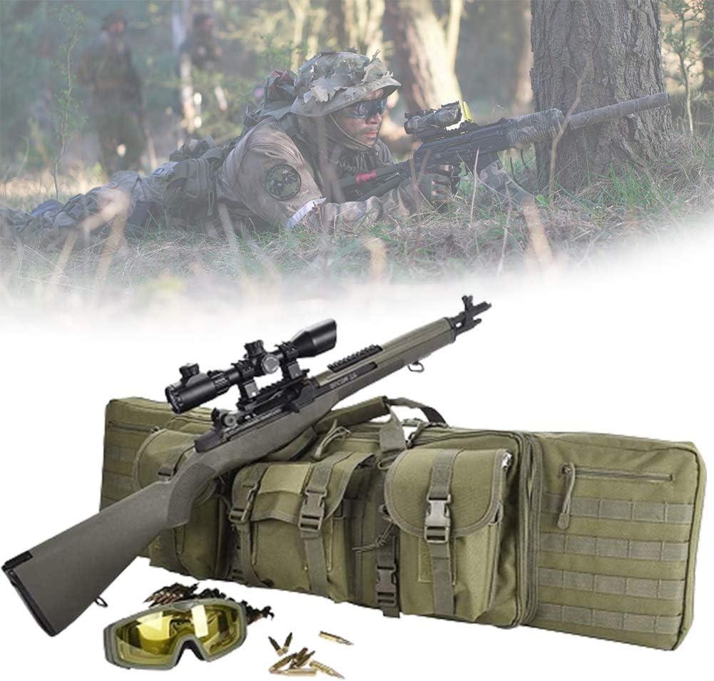HNWTKJ Bolsa para Rifle Funda para Armas Pistola Bolsa de Almacenamiento con Correa de Hombro para Caza Pesca Mochila de Nylon Impermeable (Size : 118 * 31cm)