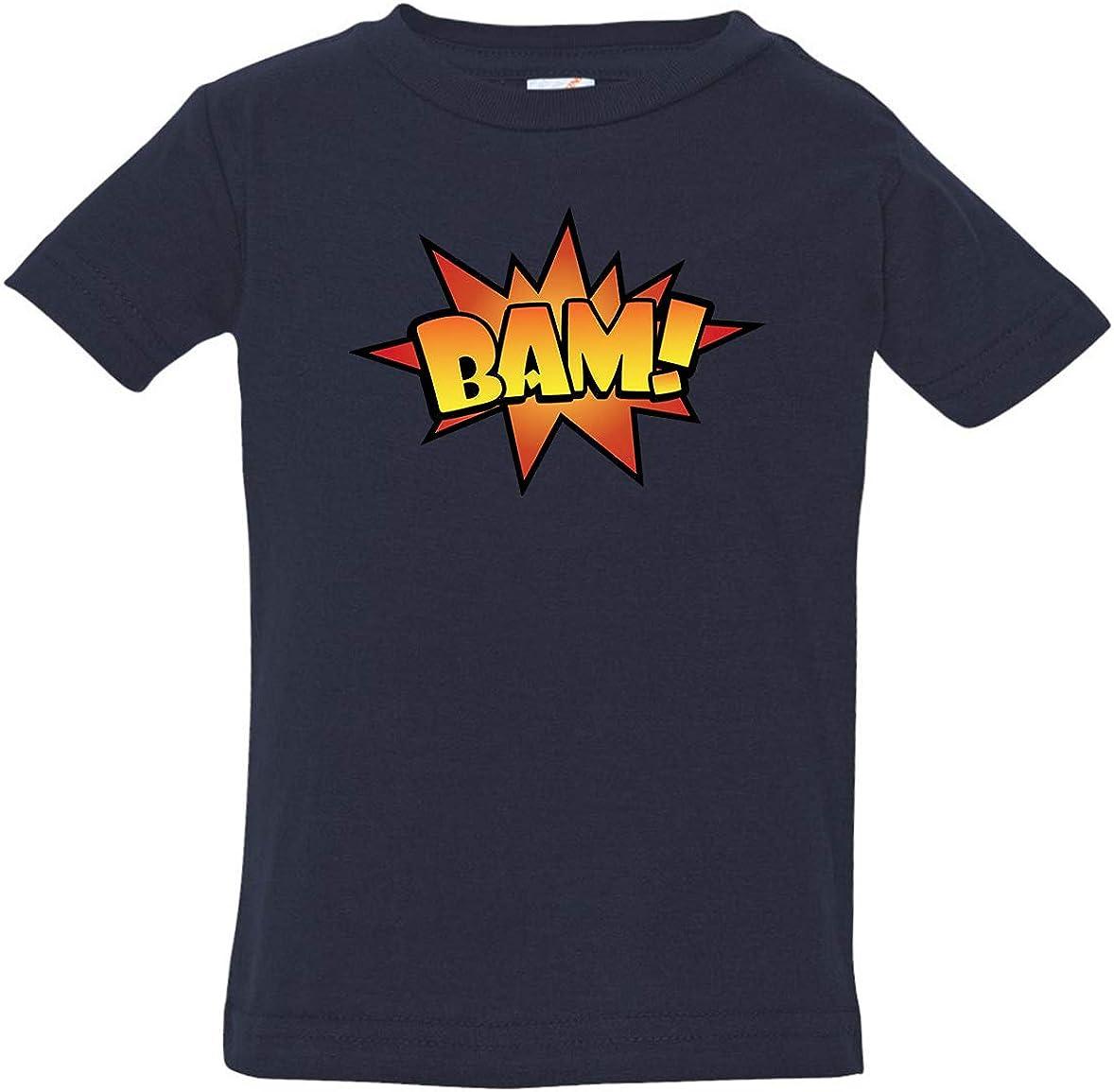 Tenacitee Babys BAM Comic Shirt