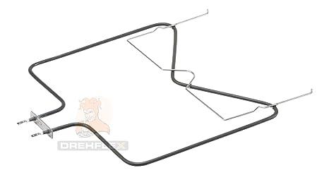 DREHFLEX® - Unterhitze/Heizung/Heizelement - passend für diverse Bauknecht Ignis Philips Whirlpool Ikea Herde/Backofen - pass