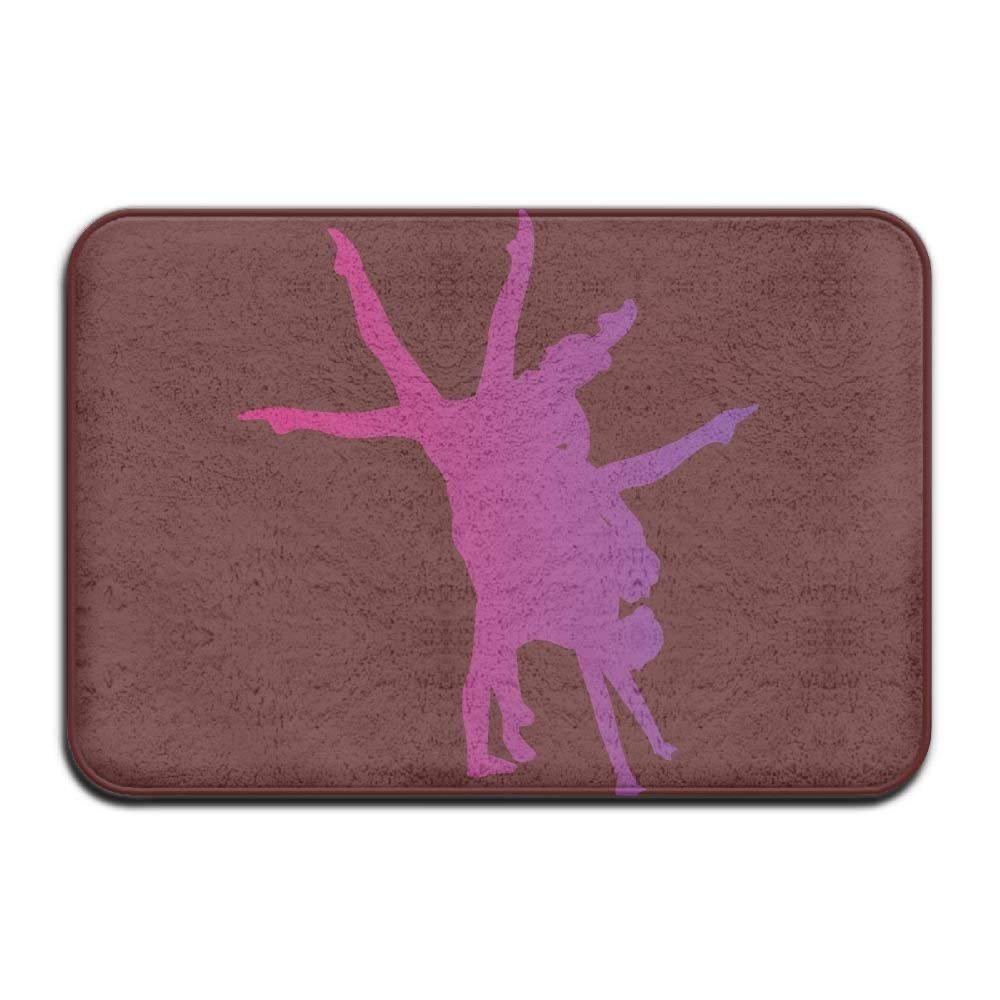 ACD&TV slip mat Home Door Mat Gymnastics Dance Doormat Pile Entrance Rugs Anti Slip 4060 Indoor Outdoor