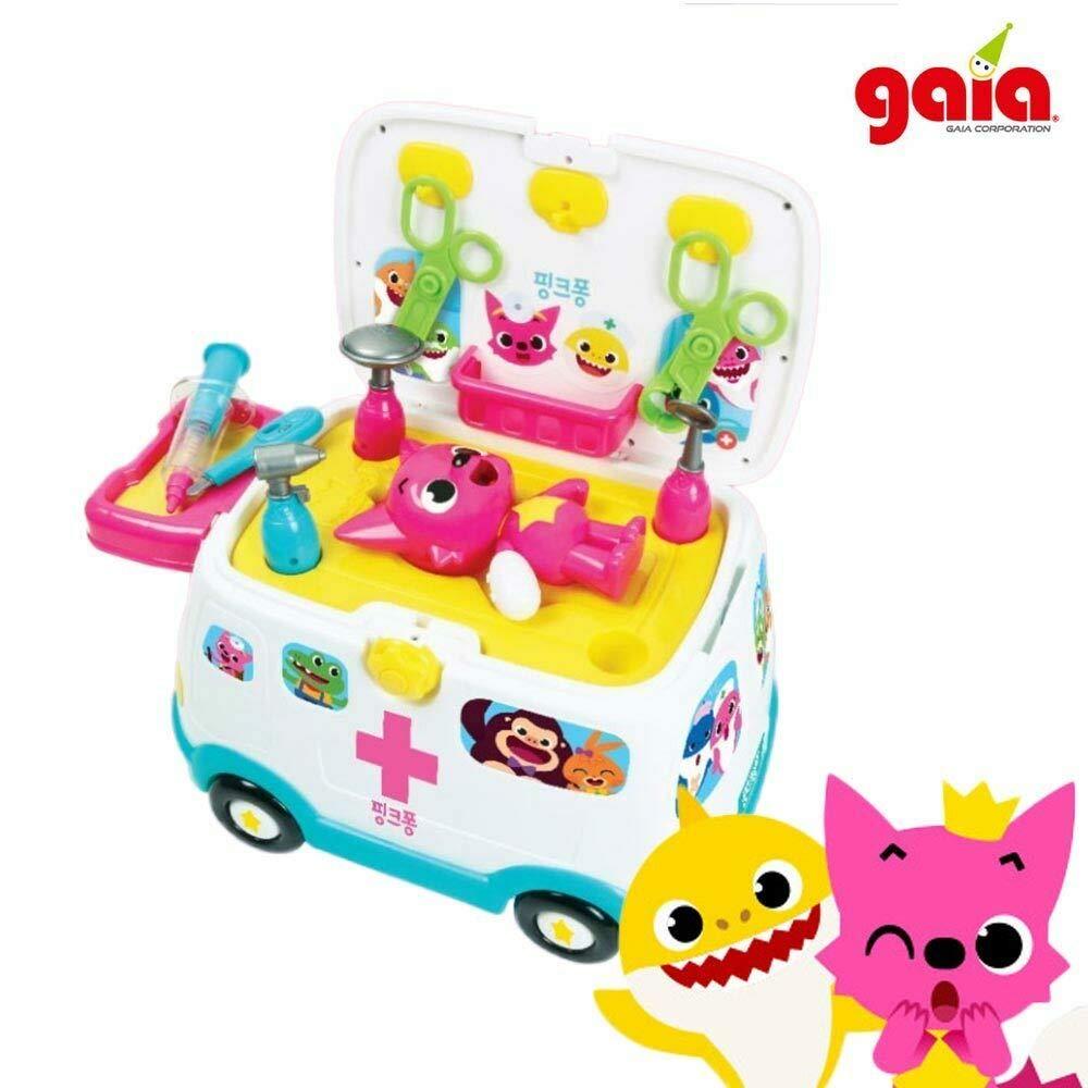 Gaia Pinkpong 119 Ambulance Hospital Play Toy