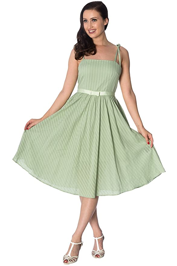 Banned Make A Wish Tabs 50s Style Swing Dress at Amazon Womens Clothing store: