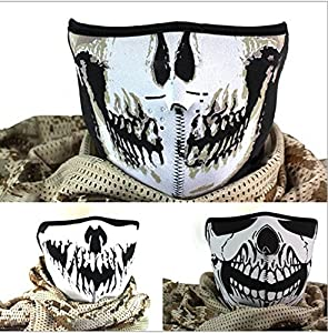 1 Stk Navy Seal The Hell Demons Skeleton Geist-Schädel-Gesicht dunkel Specter...