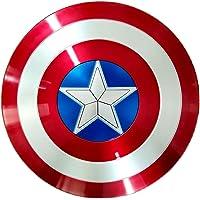 Escudo Capitan America 1: 1 ABS Adulto Apoyos de PelíCula NiñOs CapitáN AméRica Shield CapitáN Disfraz Shield…