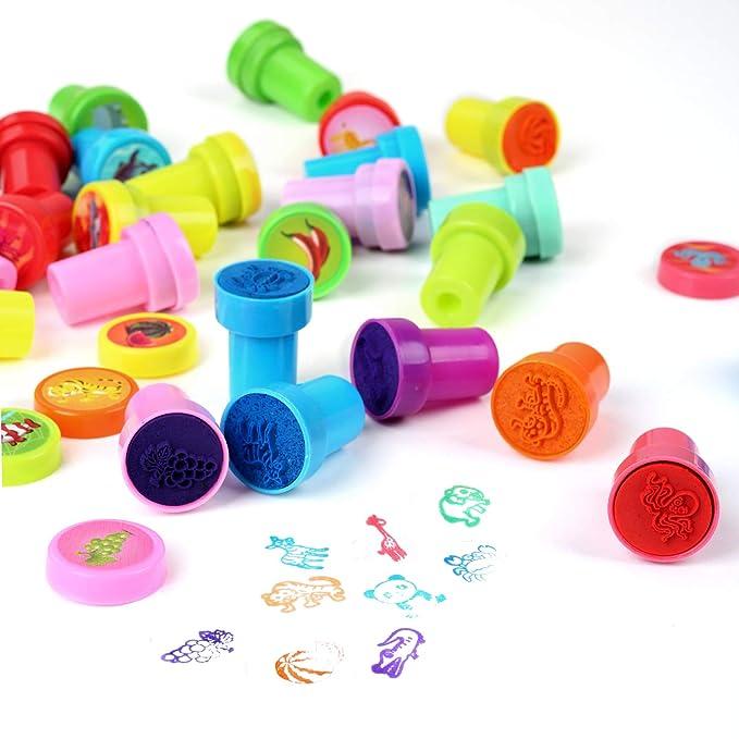 30 piezas de sellos para niños sello de animales regalos de fiesta ...
