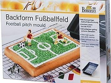 Birkmann Spielfeld Backform hochwertige Antihaftbeschichtung 30 x 22 x 4.5