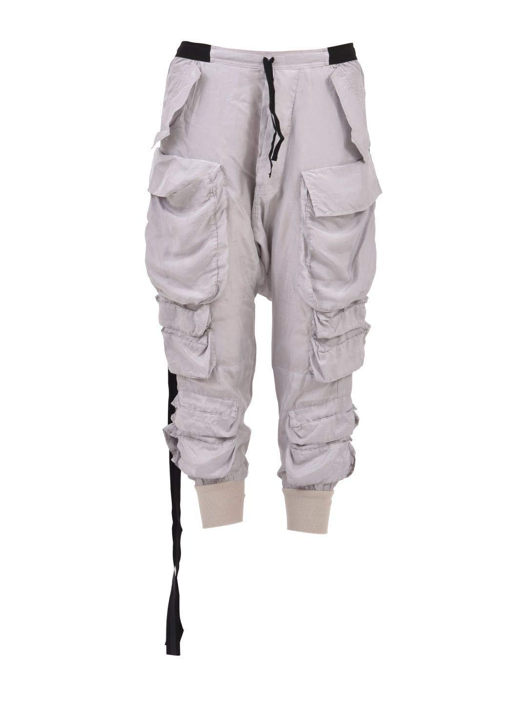 Unravel Project Women's UWCF001R181150010500 Grey Silk Pants