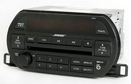 1 Factory Radio Bose Radio AM FM 6 Disc CD w Aux Input Compatible with Nissan 2002-2003 Altima PY030 281858J200