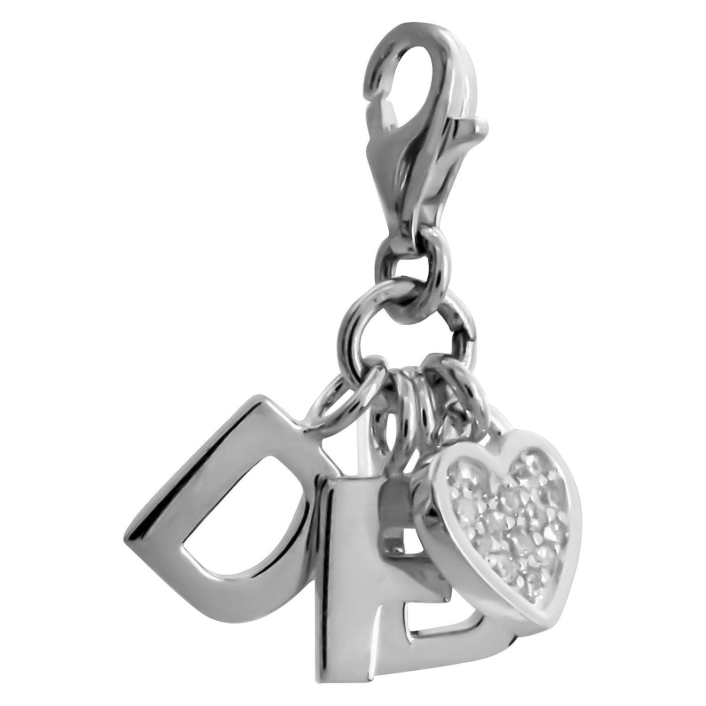 Thomas sabo dFB avec pendentif en forme de cœur argenté avec zircone dfb_0010–051–14 DFB_0010-051-14