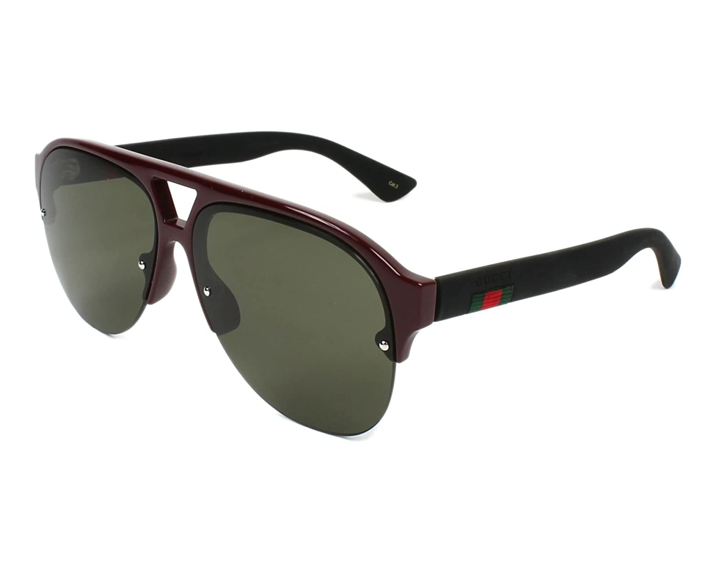 0b53f66e1 a7444a20c2c Amazon.com Gucci sunglasses (GG-0170-S 004) Bordeaux ...