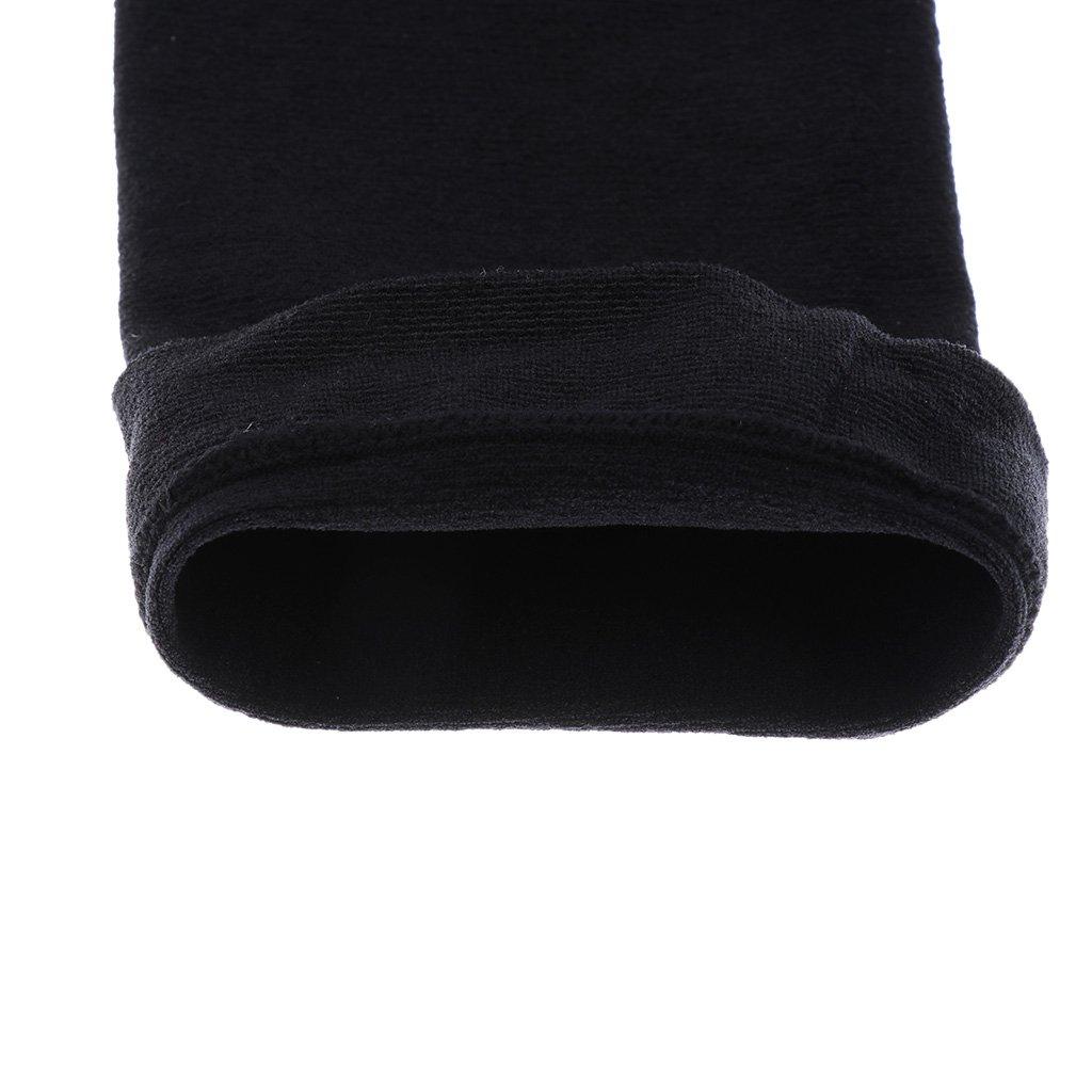 1 Paire Manchettes Couvertures de Bras pour UV Protection Solaire Noir
