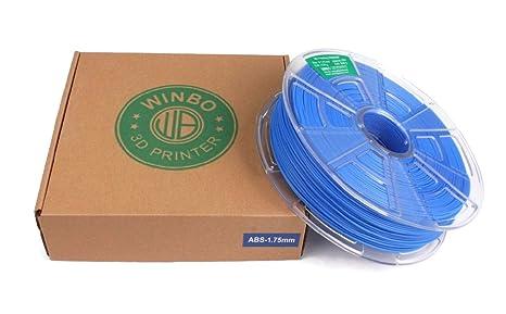 Filamento ABS 1.75 1kg para impresion 3D (Amarillo): Amazon.es ...