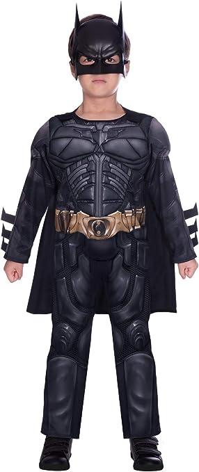 Disfraz de superhéroe para caballero oscuro Batman (edad 4-6 años ...