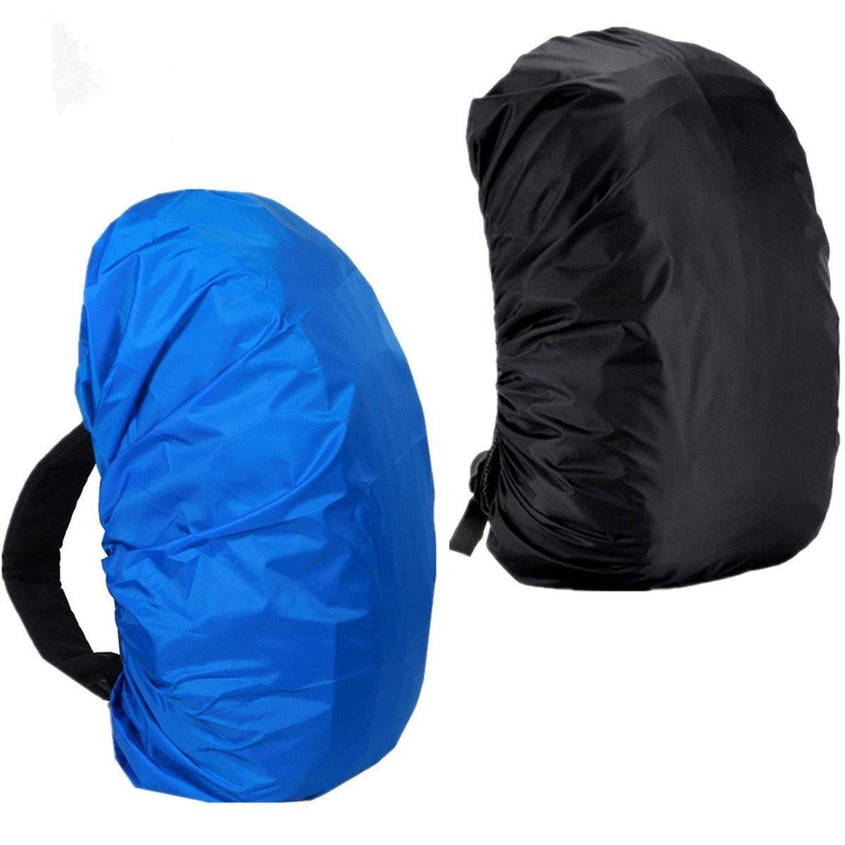 lanticyバックパック雨カバー、2パック防水パックバッグ雨カバー30l-40l Large Small Tear抵抗防塵防雨プロテクター調整可能伸縮Raincover for旅行、アウトドア活動 B07D734PRN