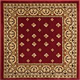 Extremely durable and soft Accent rug. This rug adds a pleasant touchy to any floor with its simple, stylish and clean design. Stain and fade resistant. The 100% jute backing is safe for wood floors and all four sides of the rug are serged fo...