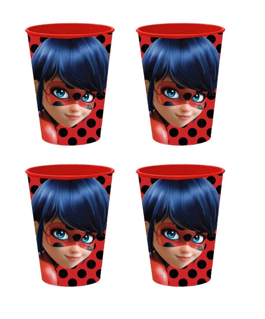 miracolous Lady Bug –  Enfants Gobelet/jus Tasse/Gobelet/malbe ergonomique –  Gobelet plastique –  250 ml –  verre en plastique –  Enfants –