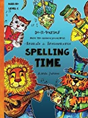 Spelling Time - Master 150+ Advanced Spelling Words Animals & Instruments: Do-It-Yourself, ideal for ages 10+ Levels B2, C1, C2 Engaging and effective, the Spelling Time Journal is a must-have for curious students ready to master 150 + ad...