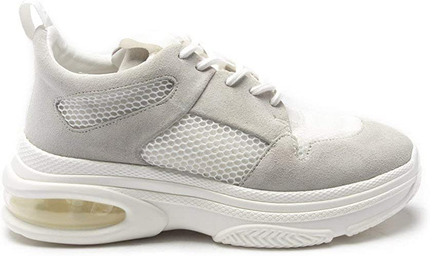 DKNY RACHY Trainers White: Amazon.co.uk
