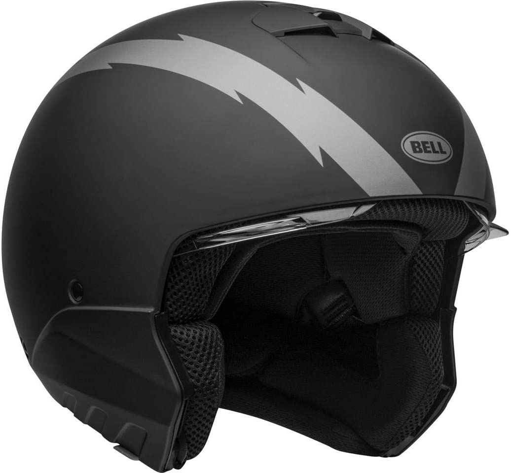BELL HELMET BROOZER ARC MATTE BLACK//GREY M