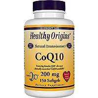 Healthy Origins kaneka COQ10 Gels, 200 Mg, 150 Count
